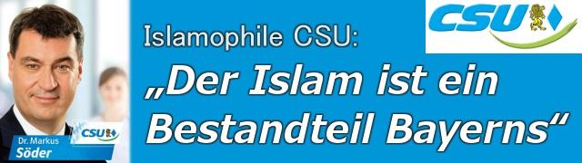 Markus Söder zum Islam